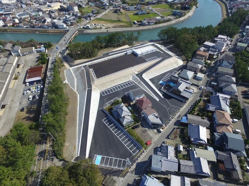 松原地区高台津波避難場所整備工事