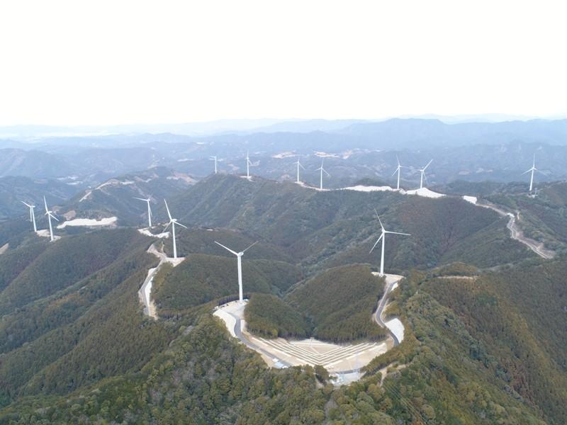 印南風力発電所施設建設工事