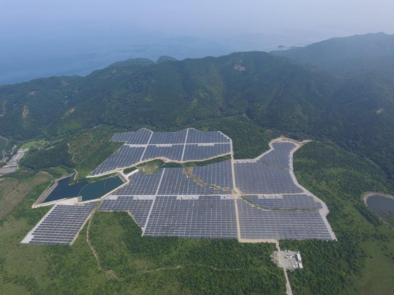 エスケーアイ太陽光発電所施設工事