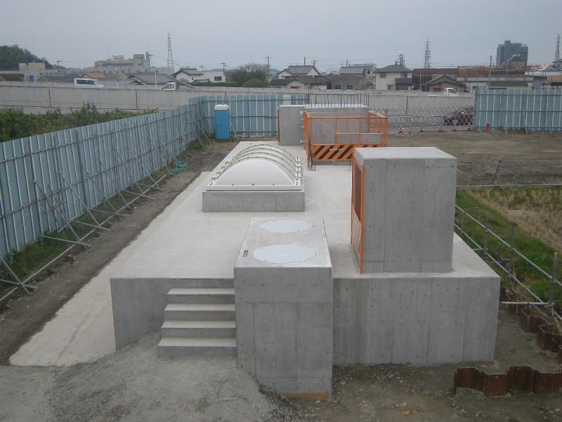 和田川雨水簡易ポンプ場施設建設工事第1期